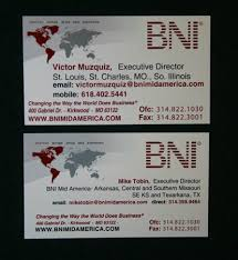 Business Cards St Louis Bni Mid America Chapter Supply Order Form