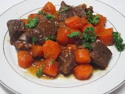 comment cuisiner jumeau boeuf recette du boeuf carotte au cookeo un boeuf tendre à souhait