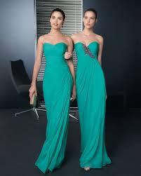 aqua bridesmaid dresses elegant