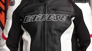 leather racing jacket dainese racing perforated jacket review at revzilla com youtube