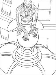 print u0026 download spiderman coloring pages for kids printable