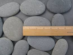 wishing rocks for wedding 40 smooth stones 3 5 to 4 large stones large smooth flat