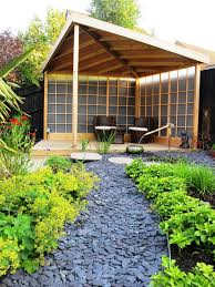 Asian Patio Design Asian Patio Design Patio Asian With Yellow Flowers Zen Garden