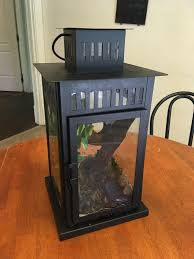 diy cost effective and aesthetic cage for small reptiles