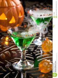 halloween drinks halloween drinks witch blood martini stock image image 21110659