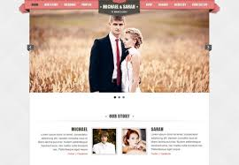 wedding site kaylan html5 wedding template wedding website
