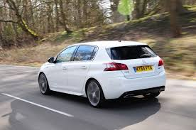latest peugeot peugeot 308 gt uk pictures peugeot 308 gt front auto express