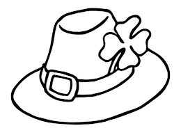 Images Of Photo Albums Hat Coloring Page At Coloring Book Online Coloring Page Of A Hat