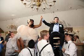 Jewish Wedding Chair Dance Stephanie U0026 Kyle U0027s Bookish Blue Wedding Weddbook