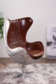 aluminium retro aviator egg chair replica flag buy aluminium