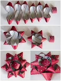 christmas bows for presents best 25 diy bow out of wrapping paper ideas on diy