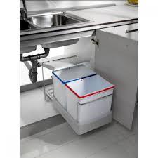 poubelle tri selectif cuisine poubelle de cuisine fonctionnelle et résistante bricozor