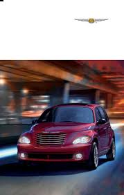 handleiding chrysler pt cruiser 2010 pagina 1 van 60 english
