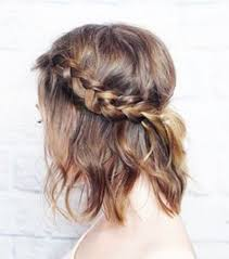 coiffure mariage cheveux courts coiffure tresse mariage cheveux courts coiffure en image