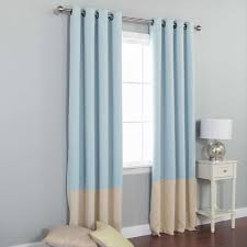 Blue Curtains Bedroom Light Blue Curtains Free Home Decor Techhungry Us
