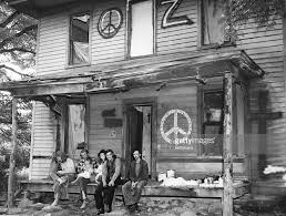 hippies on farmhouse porch pictures getty images