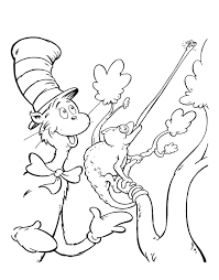 the cat in the hat coloring page dr seuss cat in the hat coloring pages corpedo com