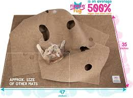 snugglycat ripple rug cat activity play mat chewy com