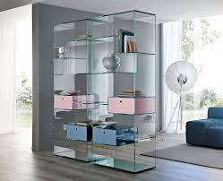 book storage ideas modern glass bookcase for interior book storage design