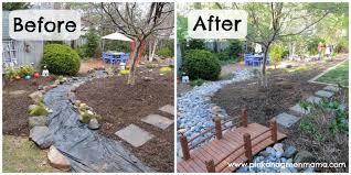 Backyard Renovations Before And After Small Back Yard Landscape Design Budget Ideas Backyard Landscaping