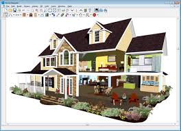 3d Exterior Home Design Online by 3d Home Plan Design Software Download Bedroom And Living Room