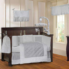 Gray Baby Crib Bedding 10 Crib Bedding Set Ebay