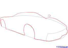 ferrari sketch side view how to draw a ferrari step by step cars draw cars online