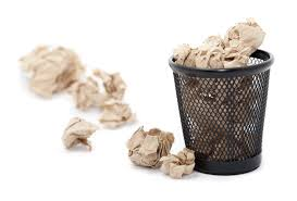 Wastepaper Basket Free Stock Photo 5299 Wastepaper Basket With Crumpled Paper