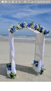 wedding arches ottawa dwan wedding arch with more tulle royal blue lights