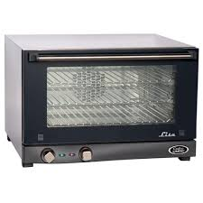 Convection Oven Stainless Half Size Glass Door
