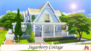 the sims 4 build showcase sugarberry cottage youtube