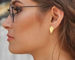 strange earrings earrings etsy