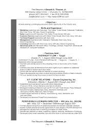 Sample Resume For Shipping And Receiving Retail Operations Manager Job Description Sample Job Resume Retail