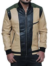 drive jacket replica this ivory bomber jacket is the replica of the original scorpion