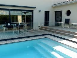 piscine en verre distral barrières de piscine