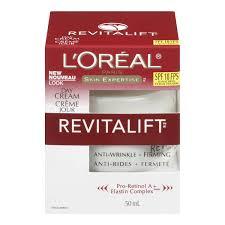 l u0027oréal paris revitalift spf 18 anti wrinkle firming day cream
