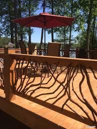Deck Handrail Deck Railing For Alabama Lake Home