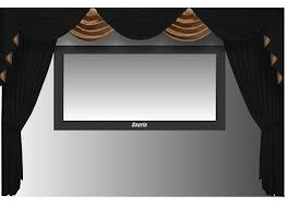 Factory Direct Drapes Discount Code Amazon Com Saaria Hdcwv120 Curtain Home Movie Theater Screen Hall