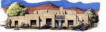 2913 sq ft southwestern house plan chp 26850 at coolhouseplans com