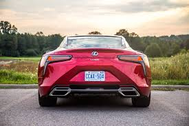 lexus canada lc 500 review 2018 lexus lc 500 canadian auto review