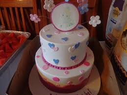 Precious Moments Centerpieces by Precious Moments Baby Shower Cakes