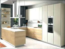facade cuisine bois brut cuisine bois et blanc tabouret with cuisine bois et blanc