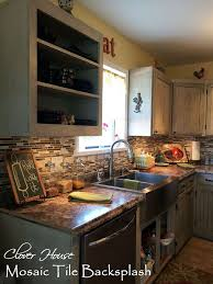 mosaic tiles backsplash kitchen diy mosaic tile backsplash hometalk