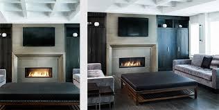 concrete fireplace surrounds anthony concrete design