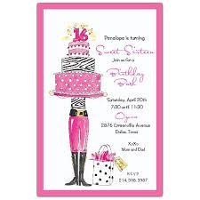 sweet 16 birthday invitations free templates drevio invitations