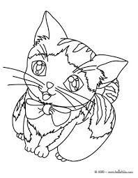 kitten coloring pages to print kitten coloring pages hellokids com