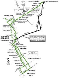 Philadelphia Zip Code Map by Philadelphia Trolley Map U2022 Mapsof Net