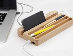 Desk Organizer Desk Organizer With Usb Kikkerland Design Inc