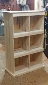 Pallet Wood Bookshelf Pallet Wood And Metal Leg Bookshelf Di Woodandwiredesigns Su Etsy