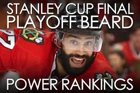 Playoff Beard Meme - stanley cup final playoff beard power rankings total pro sports